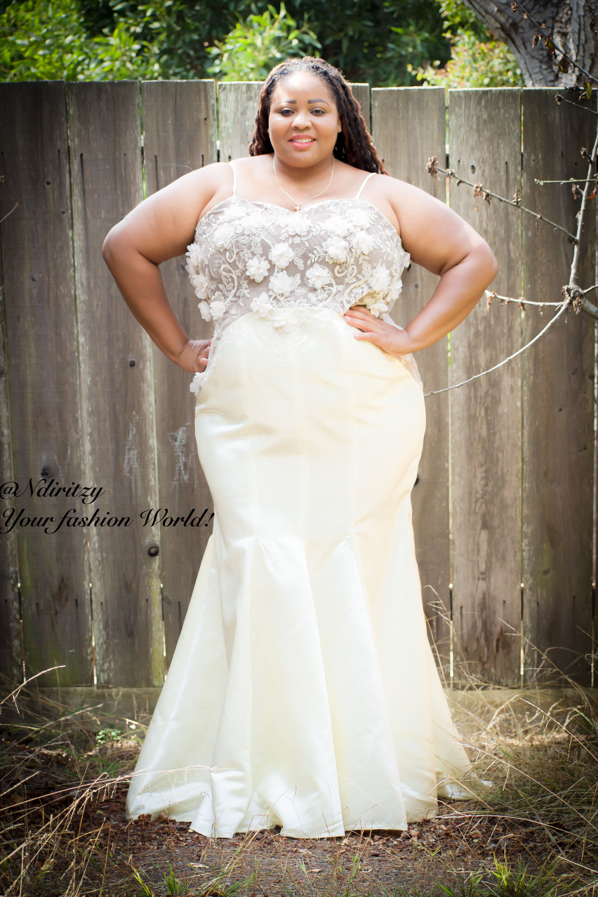 Plus Size Bridal Dress