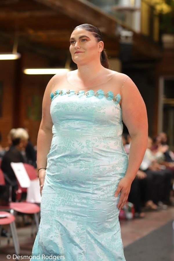 Mint Plus size Illusion Dress - NdiRitzy