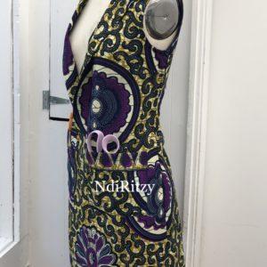 f5318f80d6d Brown flannel wool coat - NdiRitzy