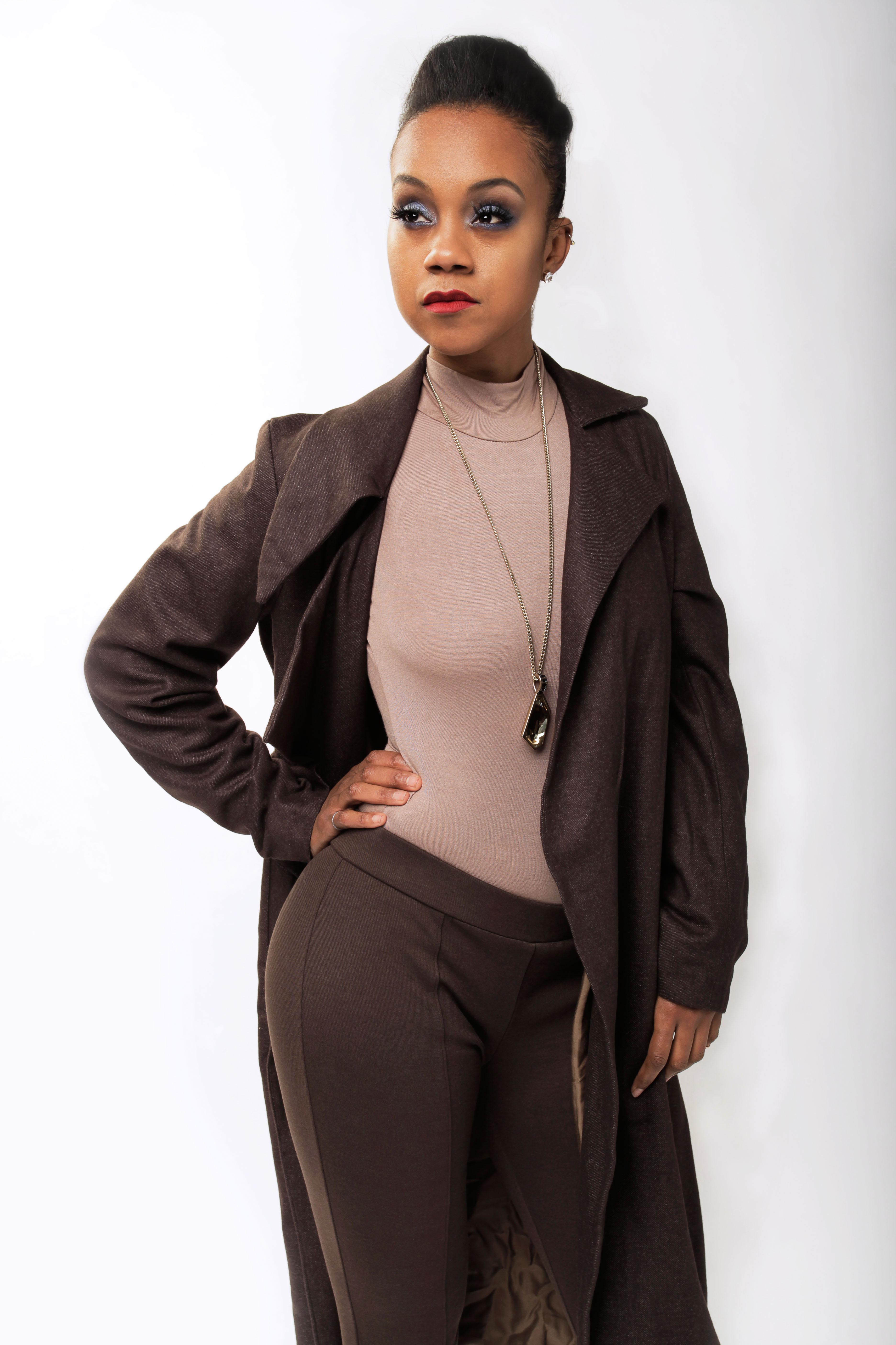 92b74b1f178 Asymmetric tweed coat dress - NdiRitzy